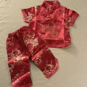 Other - NWOT Traditional Silk Chinese Outfit